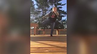 Young Boy Makes A Hilarious Video with Musical.Ly App