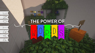 The Power Of Words - Minecraft Puzzle Map - Part One