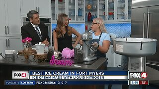 """""""Best Ice Cream"""" in Fort Myers shows off tasty cotton-candy treat"""