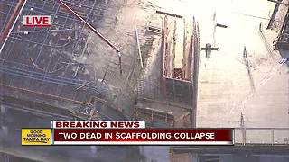2 killed after scaffolding collapses near Disney - Video