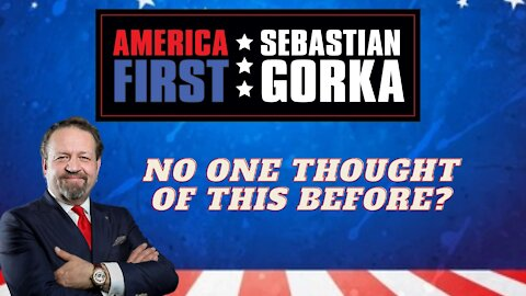 No one thought of this before? Steve Kramer with Sebastian Gorka on AMERICA First