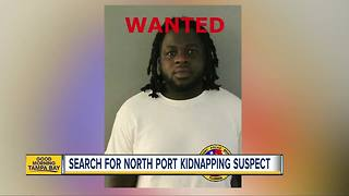 Armed kidnapping suspect wanted; North Port Police warn public to use extreme caution - Video