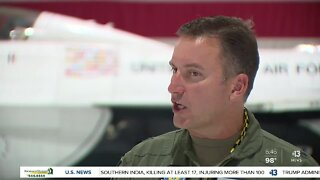 Change of command at Nellis Air Force Base