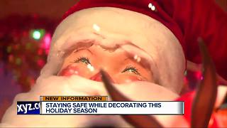 Staying safe while decorating this holiday season - Video