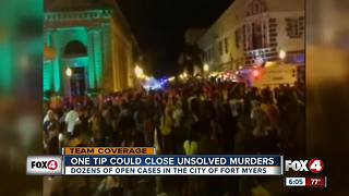 One tip could close unsolved murders - Video