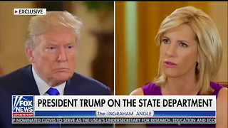 Trump Asked If He's Worried About Unfilled State Dept Roles — His Response Sets Internet on Fire - Video