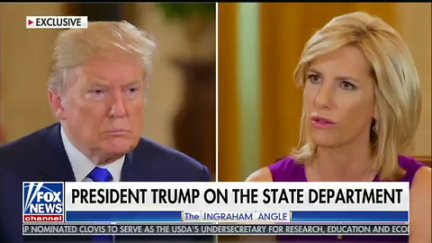 Trump Asked If He's Worried About Unfilled State Dept Roles — His Response Sets Internet on Fire