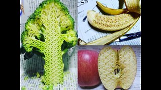 Artist meticulously carving food makes internet angry - ABC15 Digital