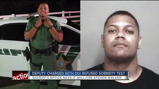 Pasco Corporal being fired after DUI arrest, crashing into parked car