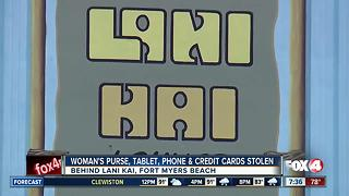 Woman Says Her Purse Was Stolen at Lani Kai - Video