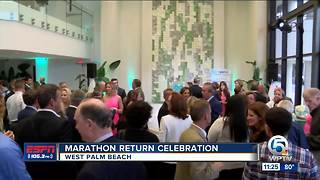 Marathon Return Celebration - Video