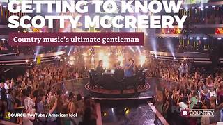 Country music's ultimate gentleman: Scotty McCreery | Rare Country - Video