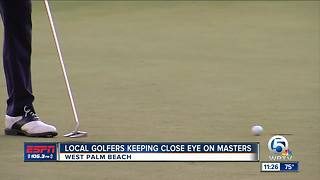 Local golf coach previews The Masters - Video