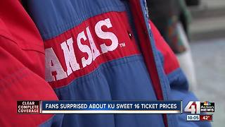 """KU fans thinking about driving to Omaha for """"Sweet 16"""" game"""