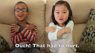 Precious little kids tell the story of Easter