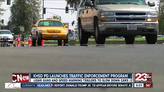 KHSD PD launches traffic enforcement program to keep students safe - Video