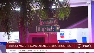 Arrest made in convenience store shooting