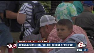 New Sky Ride opens at the Indiana State Fair - Video