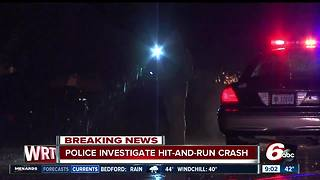 Man, woman struck by vehicle in hit-and-run on Indy's southeast side - Video