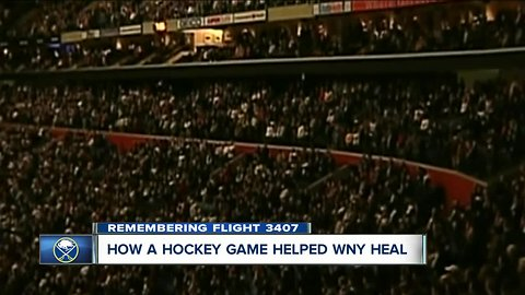 10 years later: The Sabres game that helped WNY heal