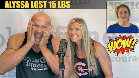 Bartlesville Gyms   Alyssa lost 15 lbs   Colaw Fitness in Bartlesville