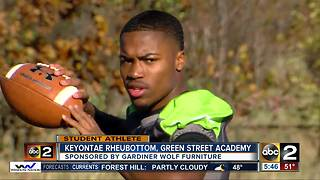 Student athlete of the week Keyontae Rheubottom - Video