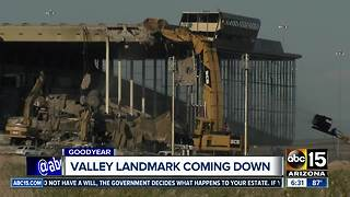 Valley landmark coming down despite some calls to preserve it - Video