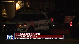 Sterling Heights police investigating death of woman