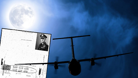 US pilots saw cigar-shaped UFO but government destroyed the files
