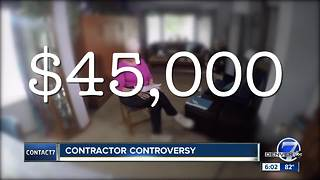 Littleton mom says contractor took her money then abandoned work