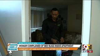 Houston, I Have a Problem: Woman leaves bed bug-infested complex - Video
