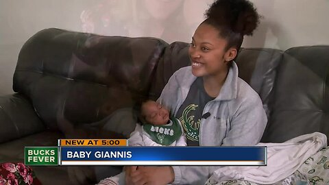 Babies starting to get named after Giannis