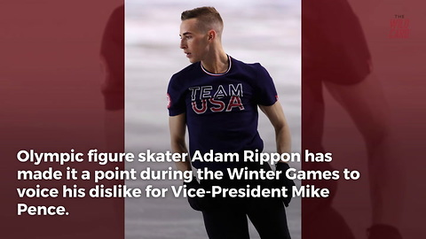 Donald Trump, Jr. Calls Out Olympian Adam Rippon For Anti-Pence Comments