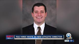 FAU hires Brian White as new athletic director - Video