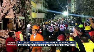 At least 250 dead after Mexico earthquake - Video