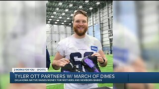 NFL's Tyler Ott Partners with March of Dimes