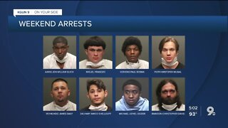 Tucson police release names, charges of 19 arrested during weekend protests