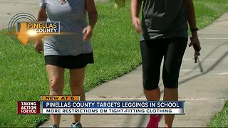 Pinellas Schools aims to crack down on leggings - Video