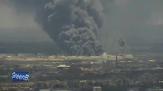 Fire out after refinery explosion - Video