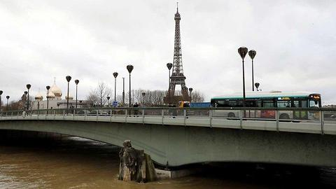 Paris Is Flooding And The Sights Are Intense