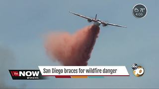 San Diego braces for wildfire danger - Video