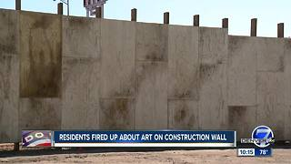 Not everyone's behind the Central 70 Project mural aimed at benefitting the community - Video