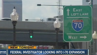 Feds launch civil rights investigation into I-70 expansion project through Denver - Video
