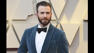 Chris Evans jokingly uses photo leak to encourage people to vote