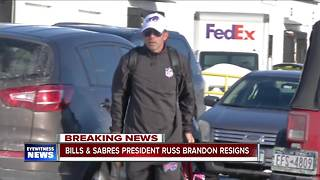Bills & Sabres President Russ Brandon resigns - Video