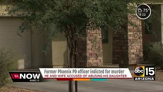 Former Phoenix Police officer indicted for murder of child - Video