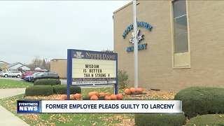 Former employee pleads guilty to larceny - Video