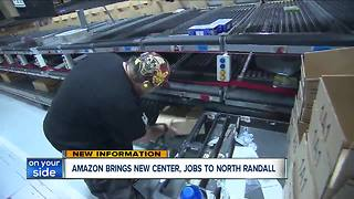 Amazon to bring new center and jobs to Northeast Ohio - Video