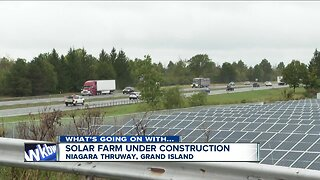 Giant solar farm project on Grand Island not completed yet; was supposed to be finished this summer