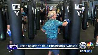 Using boxing to help Parkinson's patients - Video